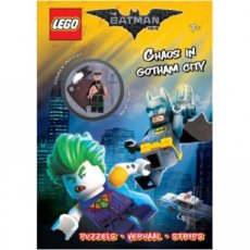 Batman Movie LEGO®  Magazine - Chaos in Gotham City