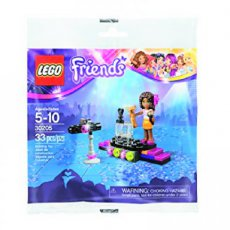 30205 LEGO® Friends Popster Rode Loper (Polybag)