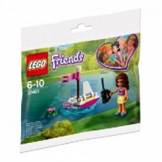 LEGO® 30403 Friends Olivia's afstandbedienbare boot (Polybag)