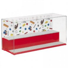 4070 LEGO® Play & Display Case Classic ROOD