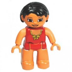 LEGO®  DUPLO®   vrouw in zomerse outfit