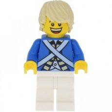 LEGO® Minifiguur Piraten Bluecoat Soldier met toebehoren
