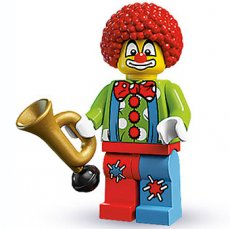 LEGO Circus Clown - Complete Set