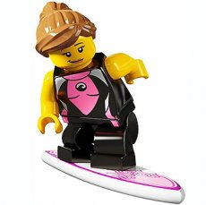 LEGO Surfer Girl - Complete Set
