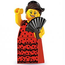 LEGO® Flamenco Dancer - Complete Set