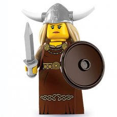 LEGO Viking Woman - Complete Set