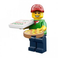 LEGO Pizza Delivery Guy - Complete Set
