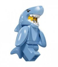 N° 13 LEGO Shark Suit Guy - Complete Set