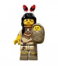 N° 05 LEGO Tribal Woman - Complete Set