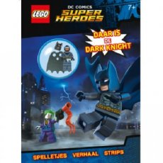 Super Heroes LEGO® Magazine - DC Comics. Daar is de Dark Knight
